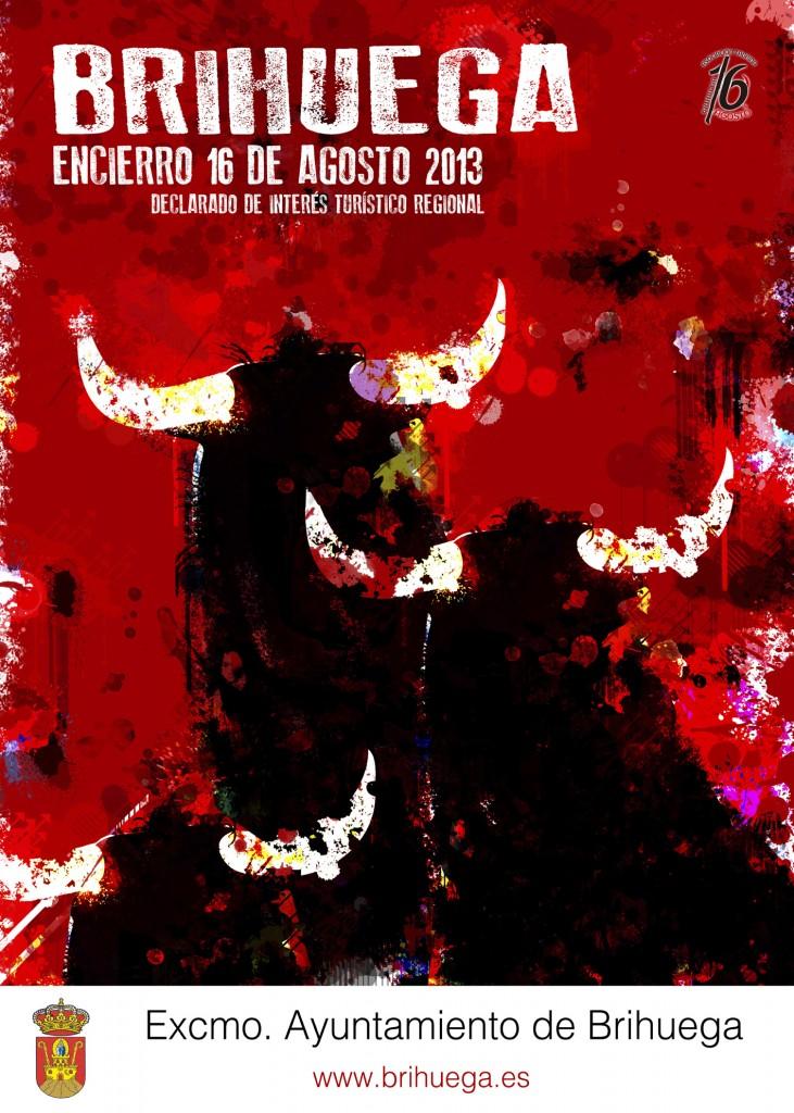 Ganador Cartel Encierro Brihuega_blanco_